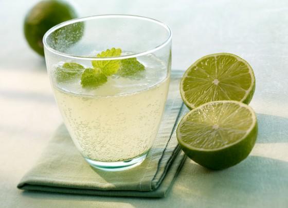 Mineralwasser-Cocktail: Grüner Buddha