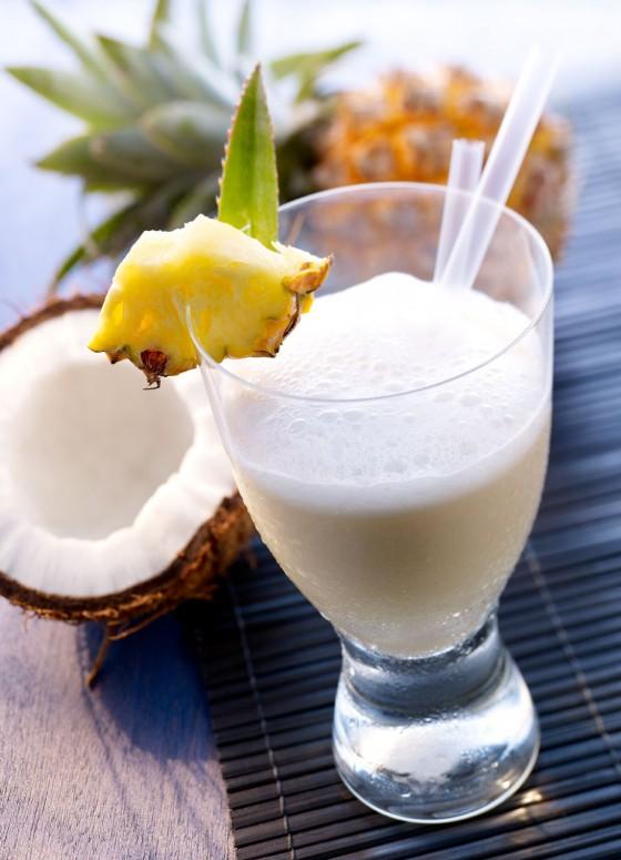 Mineralwasser-Cocktail: Palmenkuss