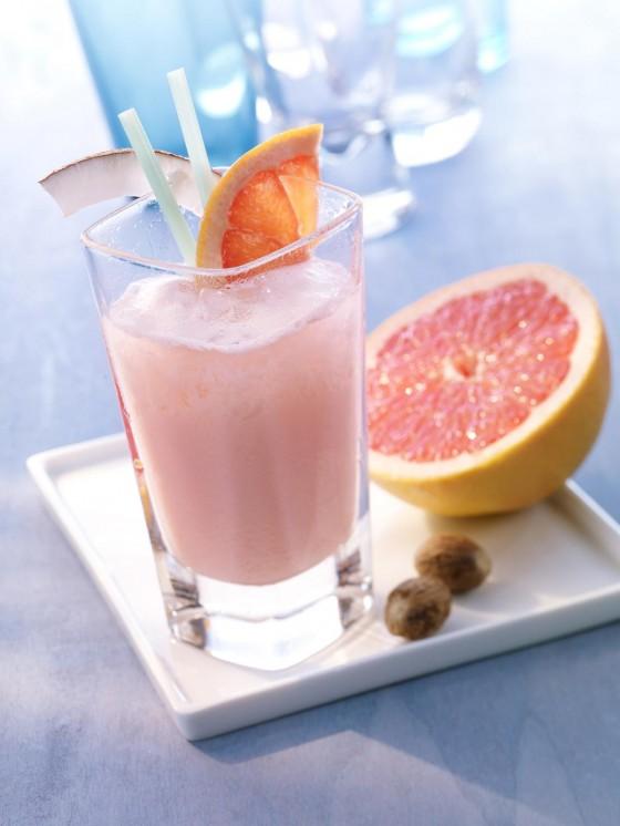 Mineralwasser-Cocktail: Pink Power