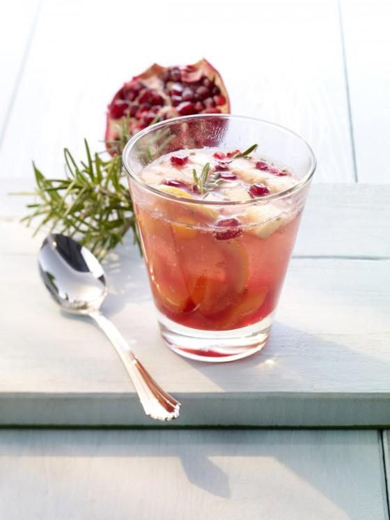 Mineralwasser-Cocktail: Spanish Heart