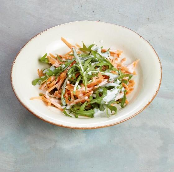 Möhren-Rauke-Salat