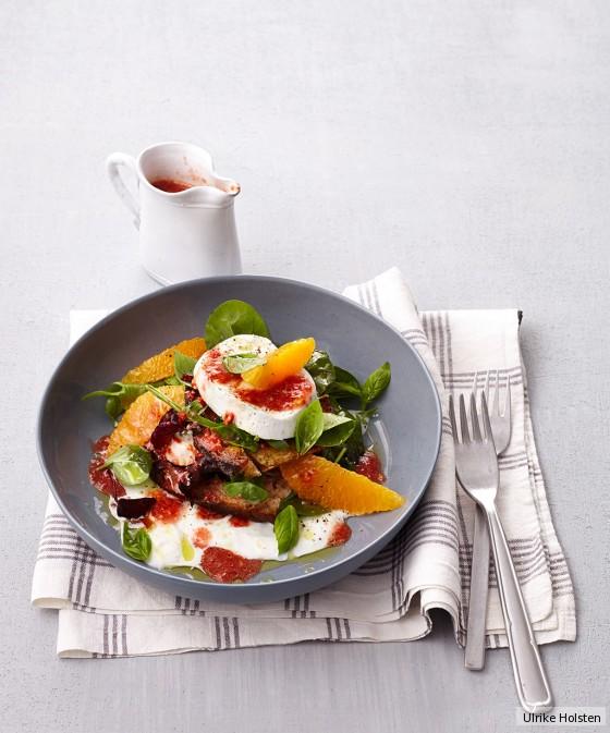 Mozzarella-Orangen-Salat