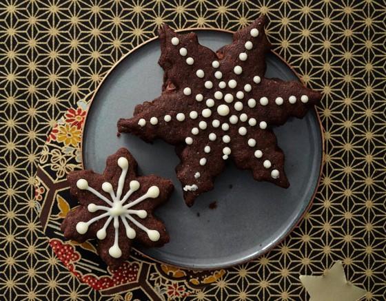 Nougat-Lakritz-Sterne