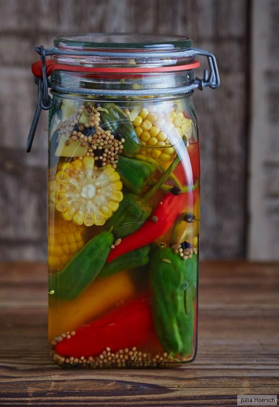 Paprika-Pickles