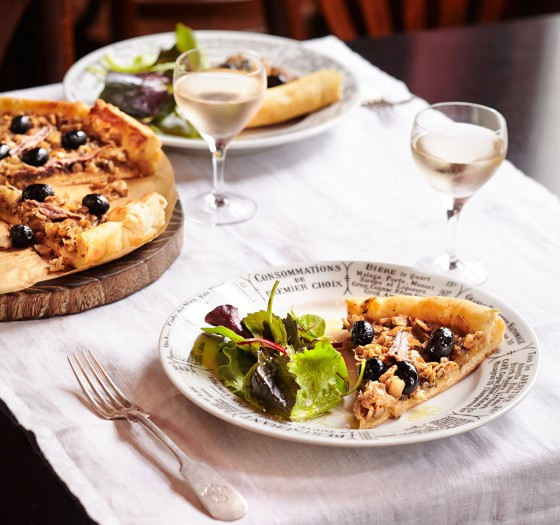 Provençalische Tarte (Pissaladière)