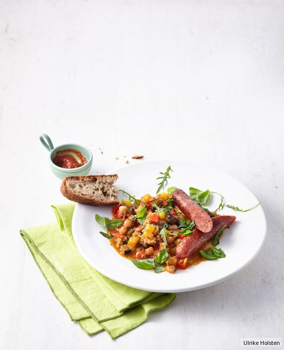 Ratatouille mit Merguez
