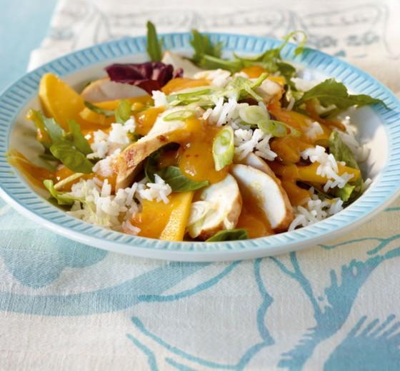 Reis-Geflügel-Salat
