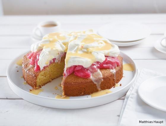 Rhabarber-Eierlikör-Kuchen