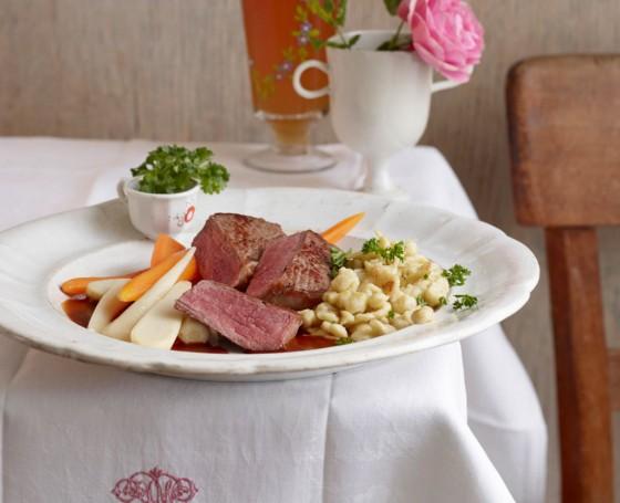 Salzburger Bierfleisch vom Rumpsteak