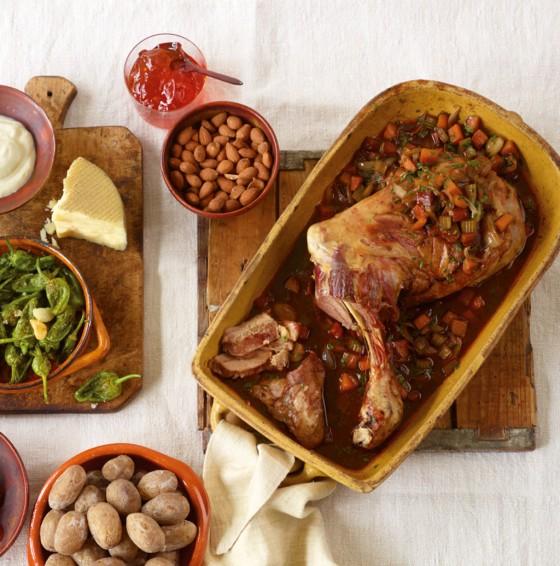 Spanische Lammschulter