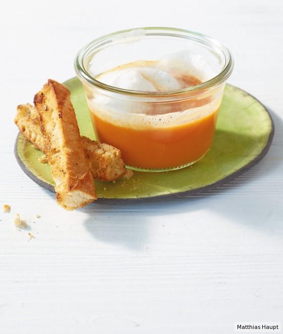 Tomaten-Möhren-Suppe