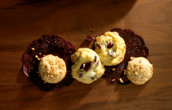Weiße Schoki-Cookies