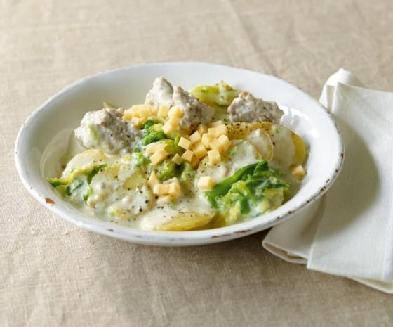 Wirsing-Kartoffel-Gemüse