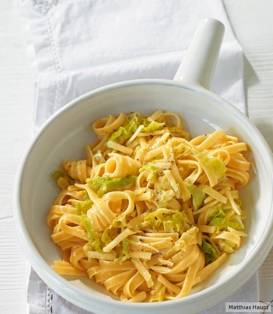 Wirsing-Pasta