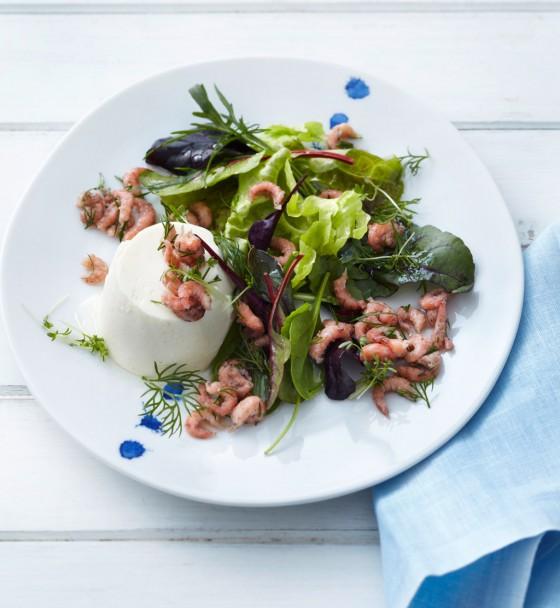 essen trinken kartoffel mousse mit salat und krabben rezept. Black Bedroom Furniture Sets. Home Design Ideas