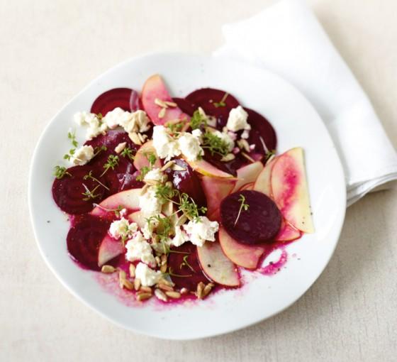 rote bete apfel salat rezept essen trinken. Black Bedroom Furniture Sets. Home Design Ideas
