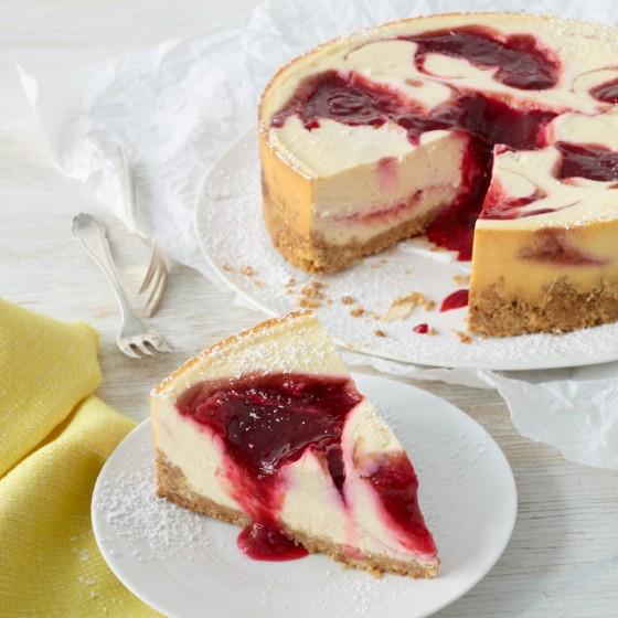 Himbeer-Cheesecake