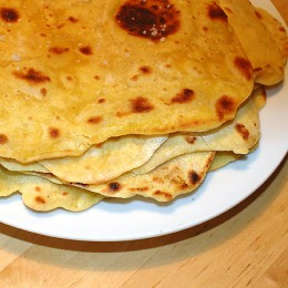 Chapatis (Maisfladen)