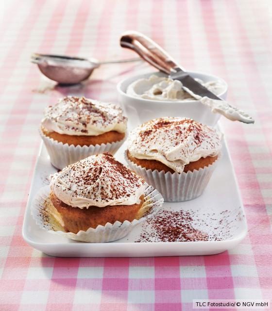Tiramisu-Cupcakes mit Espresso