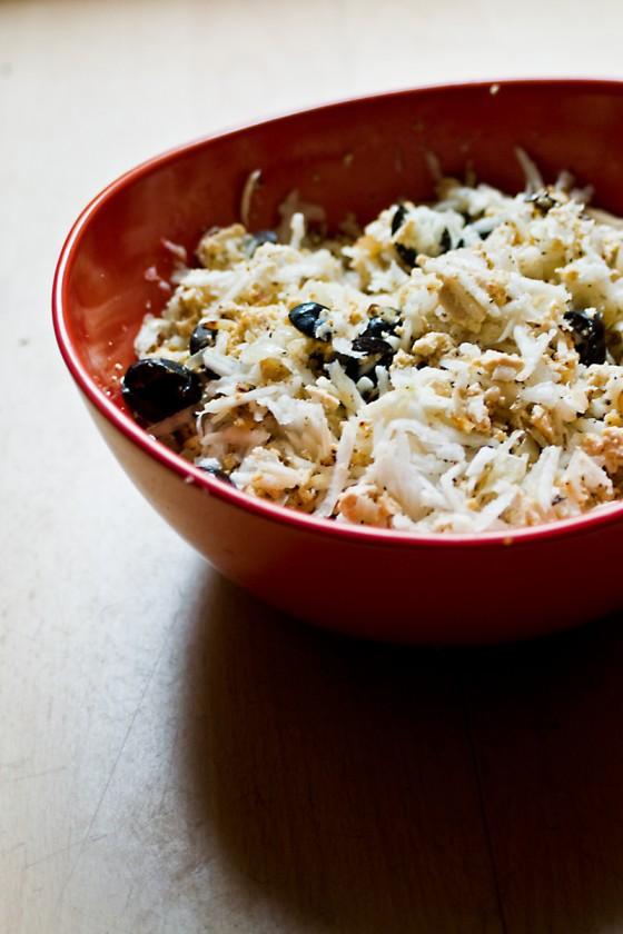Tofu-Rettich-Salat