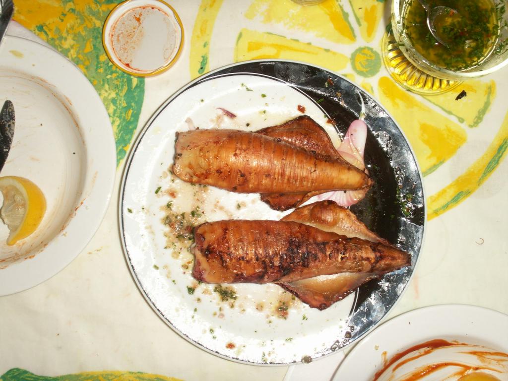 gef llter tintenfisch vom grill rezept essen und trinken. Black Bedroom Furniture Sets. Home Design Ideas