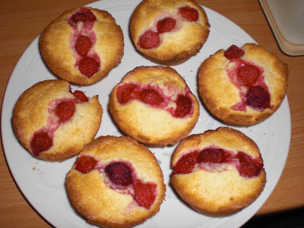 Himbeer-Muffins Rezept - [ESSEN UND TRINKEN]