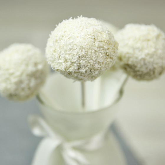 Coconut Cake Pops