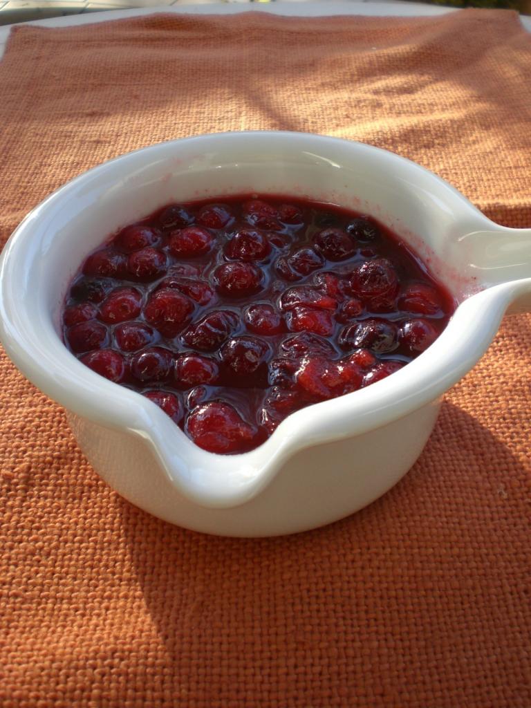 cranberry sauce rezept essen und trinken. Black Bedroom Furniture Sets. Home Design Ideas