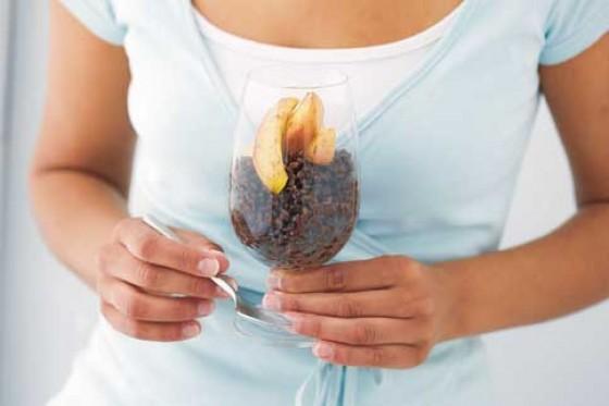 Schokorisotto mit Vanille-Äpfeln