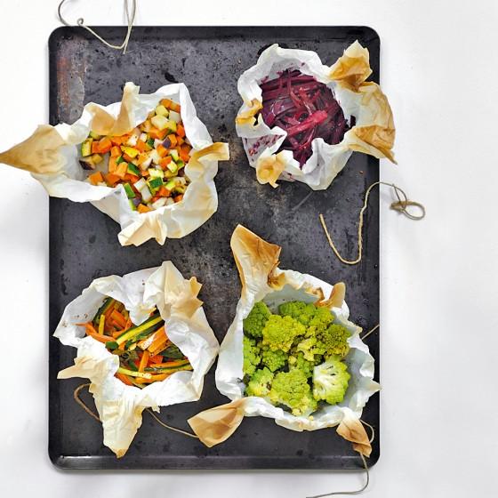 Gemüse-Julienne