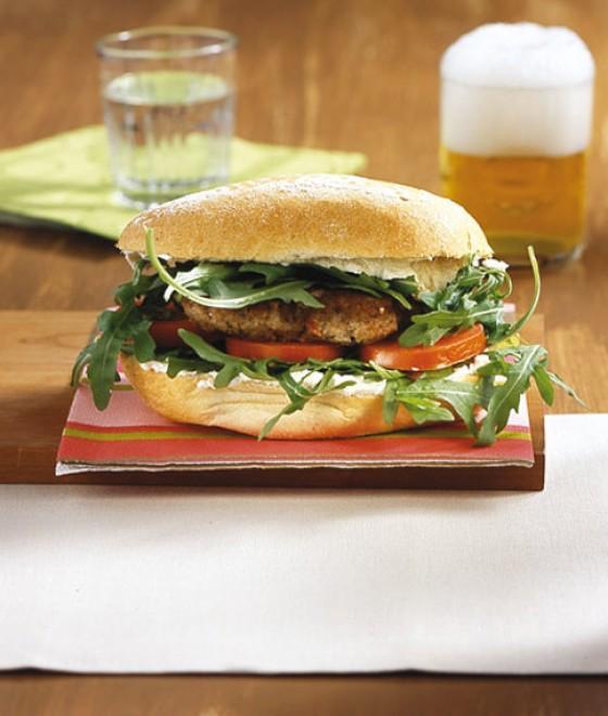 Mediterrane Lamm-Burger