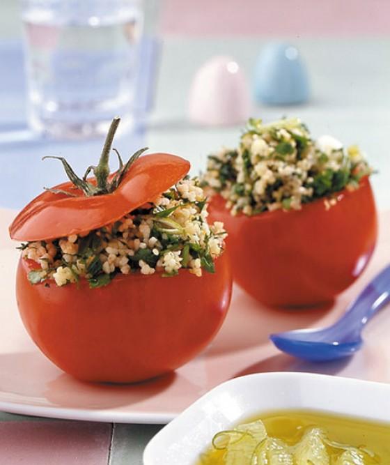 Orient-Tomaten mit Couscous