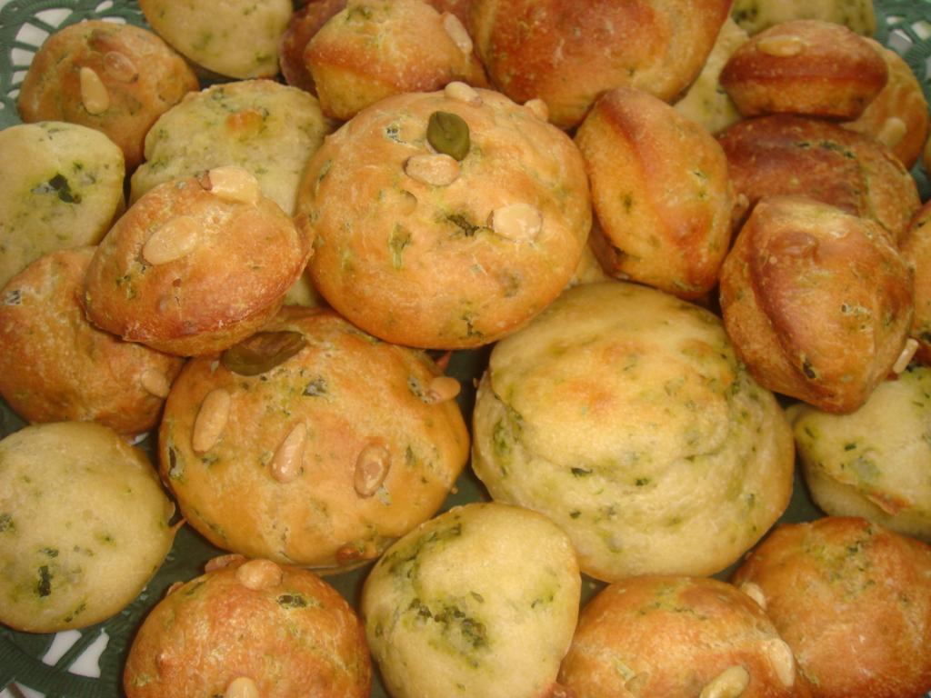 baerlauch muffins rezept essen und trinken