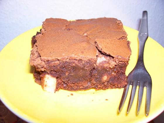 brownies mit pecann ssen rezept essen und trinken. Black Bedroom Furniture Sets. Home Design Ideas