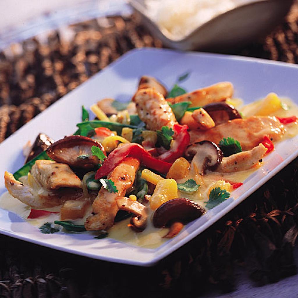chicken thai-curry rezept - [essen und trinken] - Thailändische Küche Rezepte