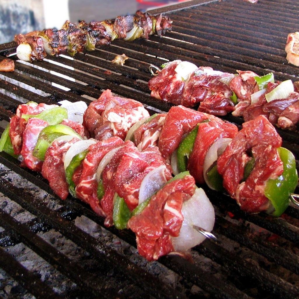russische küche: grillen - [essen & trinken]