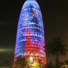 Barcelona bei Nach: der Torre Agbar