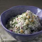 Kräuter-Knoblauch Reis