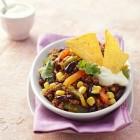 Chili con carne ist in typisches Tex-Mex-Essen