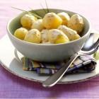 Senfsauce mit Kartoffeln