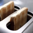 Frisch geröstet Toastbrot