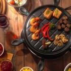 Raclette ist ideal für kalte Tage.