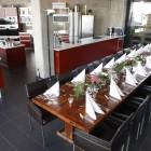Die Küche der Koschule Hamburg