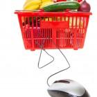 Lebensmitteleinkauf am PC