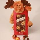 Individuelle Weihnachtsschokolade