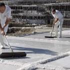 Traditionelle Salzgewinnung in Añana