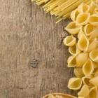 Pasta-Sorten im Rohzustand