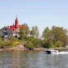 Saaristo: Insel-Restaurant in Jugendstilvilla