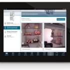 Tablet-PC: Kühl-Gefrier-Kombination von Siemens