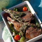 Rezept aus Le Grand Bordel: Kleines Lammkarree